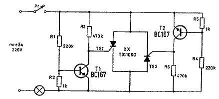 sijalice_od_volframa zastita_sijalica sinusni_napon radni_vek_sijalice tranzistor tiristor www.automatika.rs
