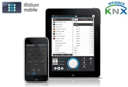 iridium knx ipad