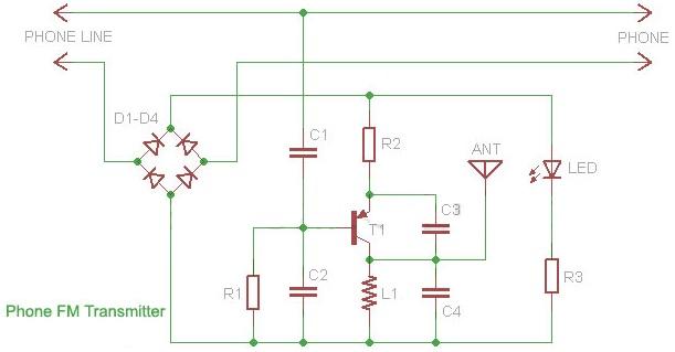 shema fm_transmiter_fiksni_telefon_projekti_elektronika_automatika.rs