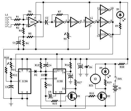 shema uredjaj za upozoravanje o prekoracenju brzine elektronika projekti automatika.rs