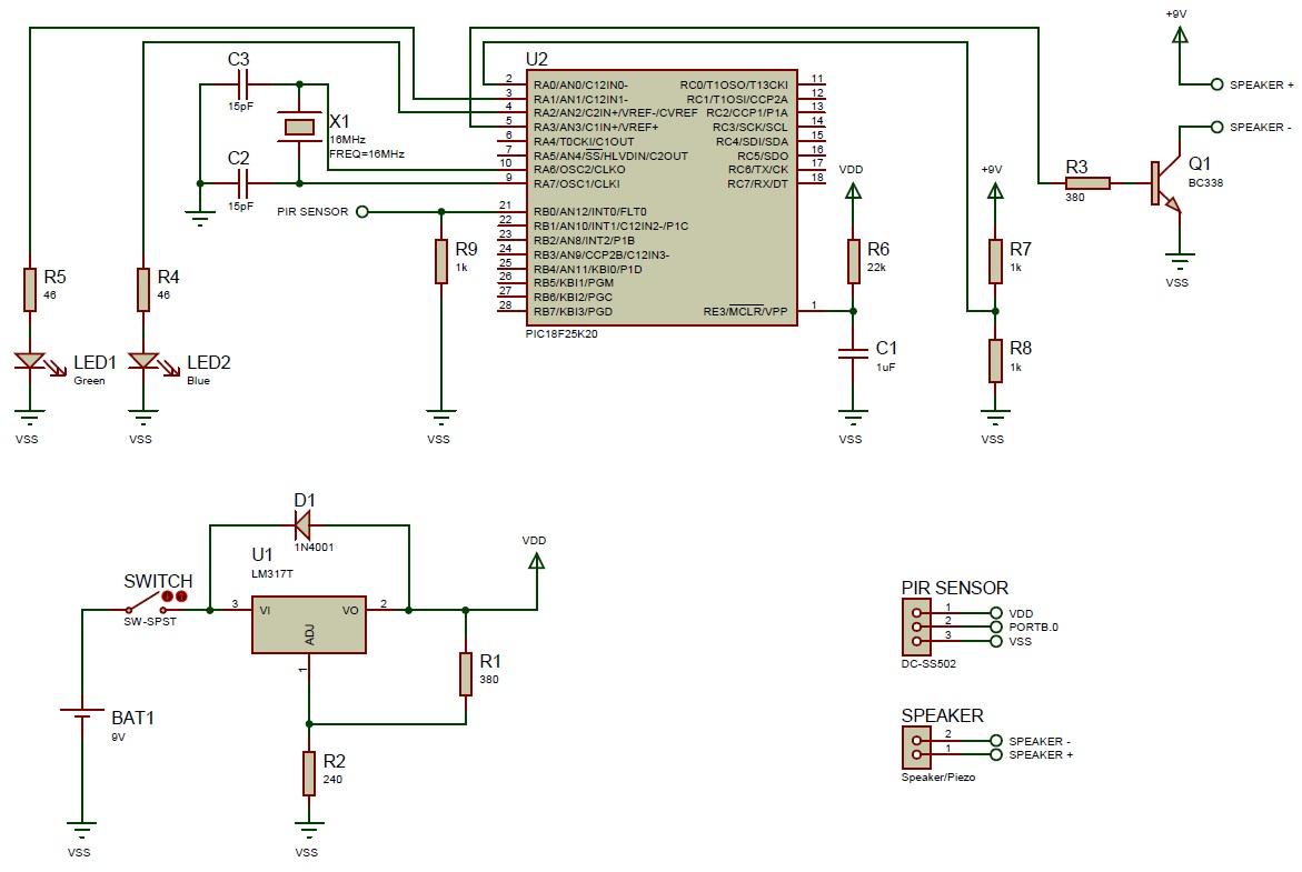 shema detekcija_pokreta_pomocu_PIR_senzora_projekti_elektronika_automatika.rs