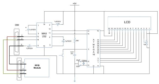 shema kako_povezati_rfid_i_atmega16_mikrokontroler_elektronika_projekti_automatika.rs