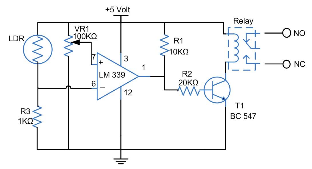 shema uredjaj_za_automatsko_ukljucivanje_svetla_projekti_elektronika_automatika.rs