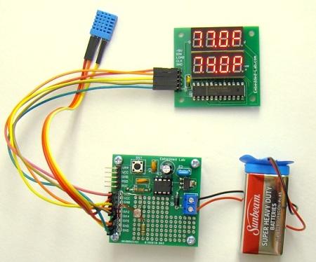 slika2 Adaptivno upravljanje intenzitetom svetlosti 7-segmentnog LED displeja projekti elektronika automatika.rs