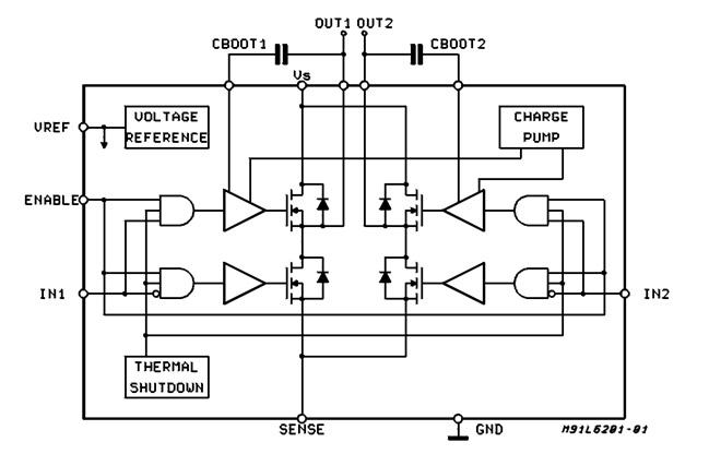 dc-motor h-most jednosmerni motor elektronika drajver automatika.rs 4