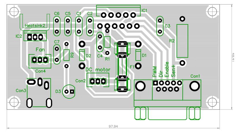 dc-motor h-most jednosmerni motor elektronika drajver automatika.rs 7