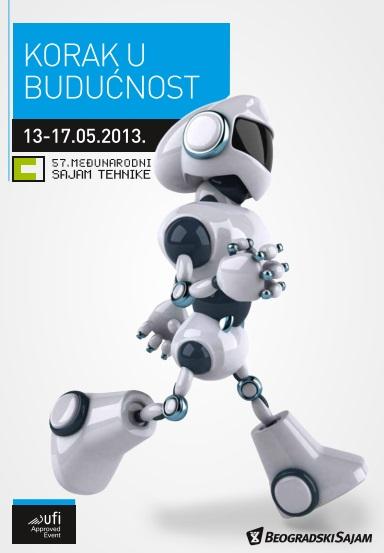 plakat sajam tehnike beograd 2013 automatika.rs