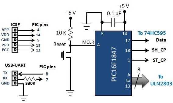slika2 kako napraviti led matricu upotrebom shift registara projekti elektronika automatika.rs