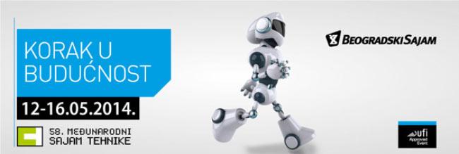 logo vesti sajam tehnike 2014 beograd korak-u-buducnost desavanja automatika.rs 2