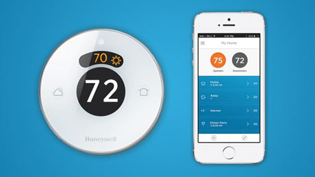 lyric smart home termostat home-automation honeywell nest automatika