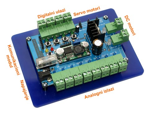 oktopod 3 opis periferije oktopod studio okruzenje elektronika automatizacija mehatronika automatika.rs