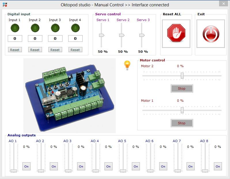 6 oktopod studio interfejs elektronika aplikacija automatika.rs