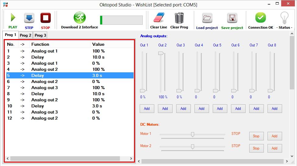 7 oktopod studio interfejs elektronika aplikacija automatika.rs