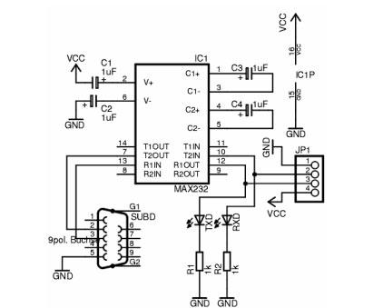 3 sema Povezivnja rs232 protokola automatika.rs