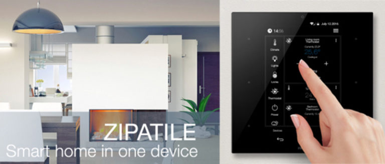 ZipaTile: All-In-One Smart Home kontroler
